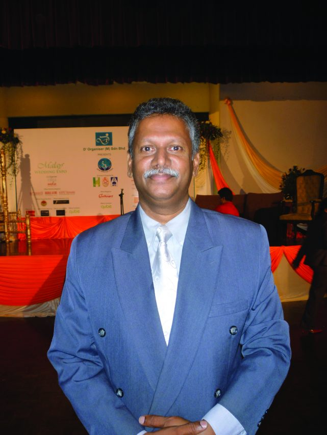 Picture of Mathyvanan, managing director of D'Organiser (M) Sdn Bhd