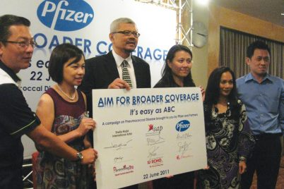 Group photo of Aim for broader coverage