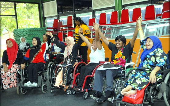 Malaysian women with disabilities empowered by self defence workshop