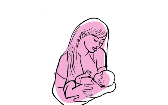 picture of mother breastfeeding baby