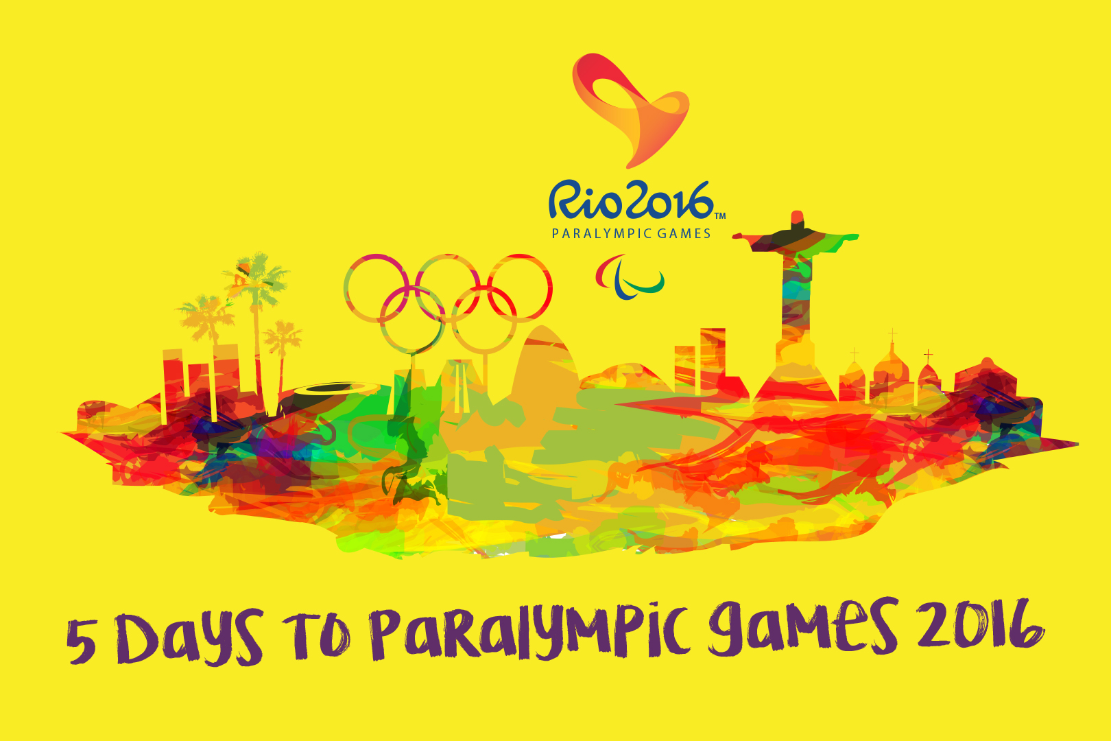 5 Days to Paralympic Games 2016