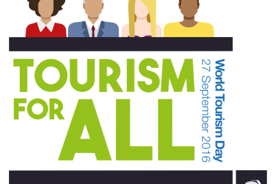 World Tourism Day 2016 celebration logo