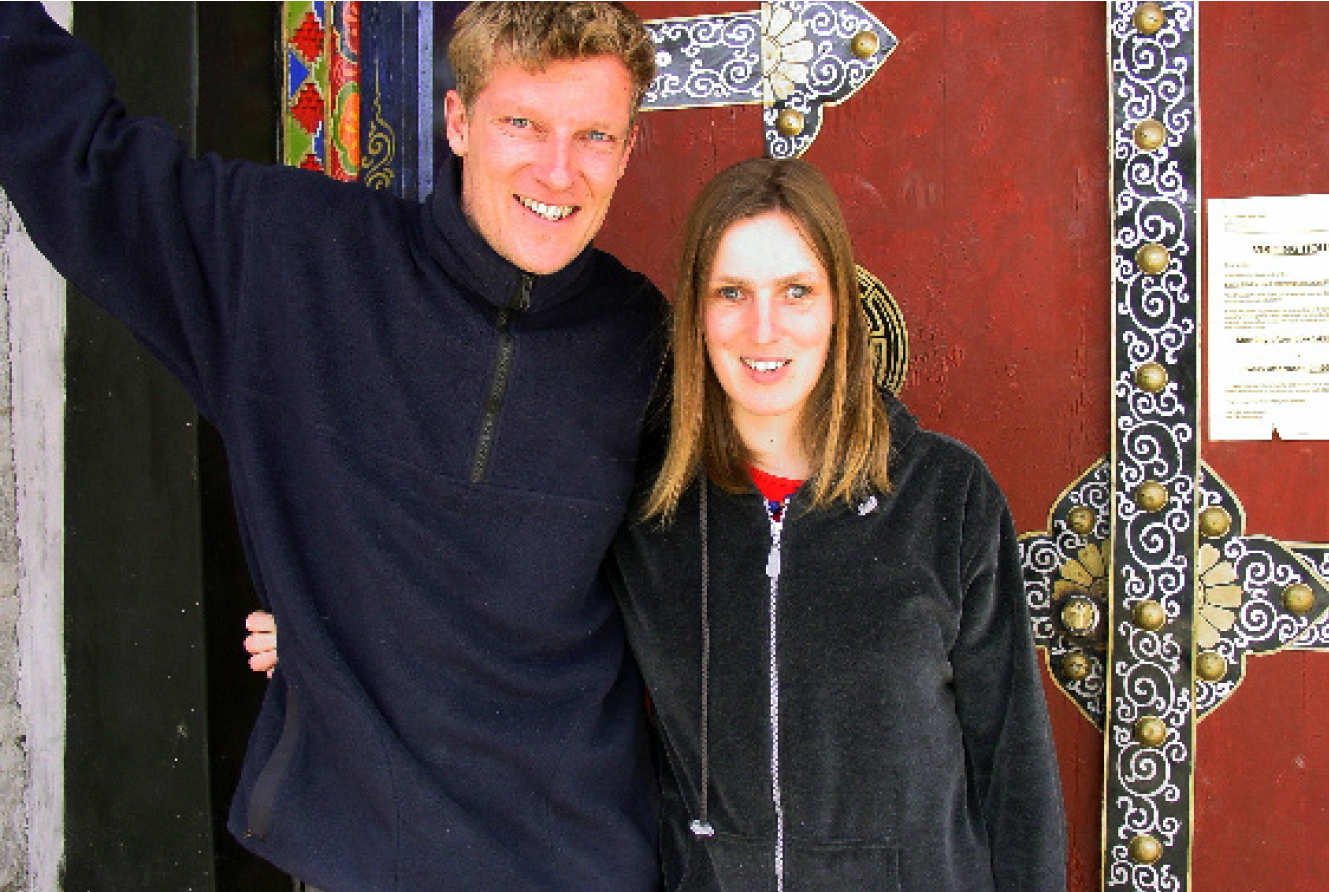 Paul Kronenberg (Dutch) and Sabriye Tenberken (German) are the founders of the organisation Braille Without Borders.