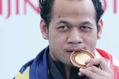 Malaysia won 9 golds in para swimming