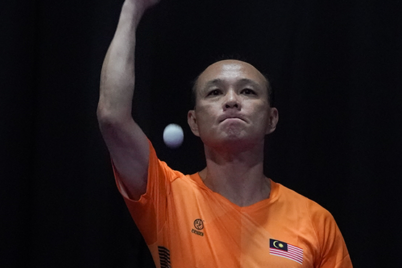 Ting Ing Hock going for his second para table tennis gold