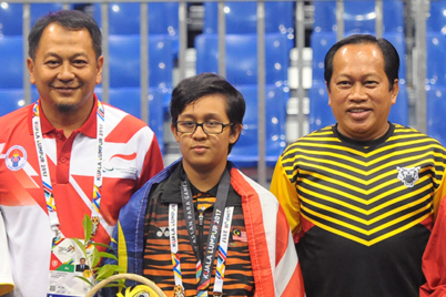 Indonesia dominates in para chess at ASEAN para games 2017
