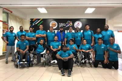 picture of members of the saudi arabia paralympic team